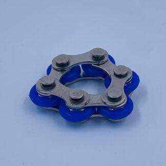 Bike Chain blå Fidget Toy