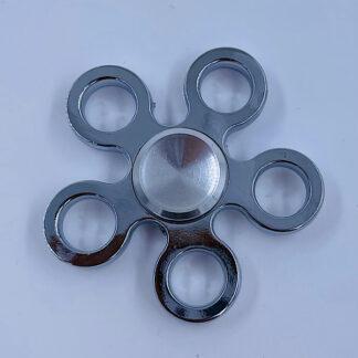 Fidget Spinner blomst sølv Fidget Toy