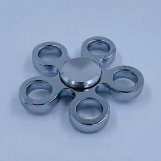 Fidget Spinner sølv blomst Fidget Toy