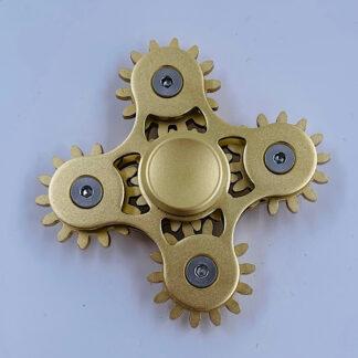 Fidget Spinner Tandhjuls Spinner guld Fidget Toy