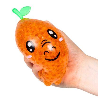 Jelly Ball Fruzoos Appelsin Stress Toy Fidget Toy