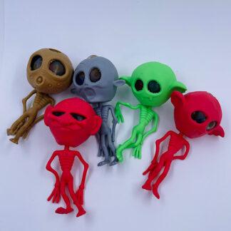 Monster stressbolde med vandperler i hjernen klemmebold