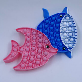 Pop it fisk eller hval Pop Fidget