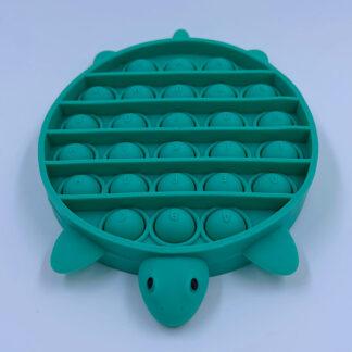Pop it Skildpadde med bogstaver Pop Fidget