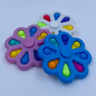 Simple Dimple Fidget Spinner Fidget Toy