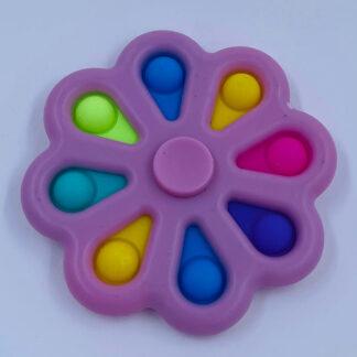 Simple Dimple Fidget Spinner lyserød Fidget Toy