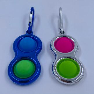 Simple Dimple to pop metallic style Fidget Toy