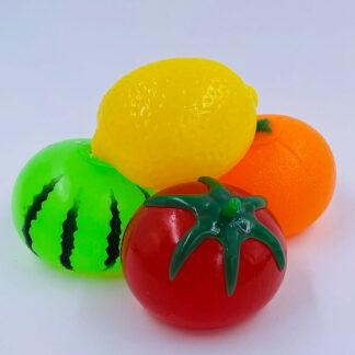 Sticky Frugt med vand inden i Fidget Toy