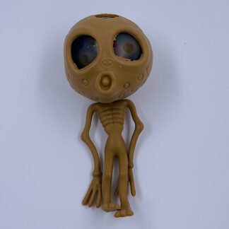 Stressbold brun Alien med vandperler i hjernen Klemmebold