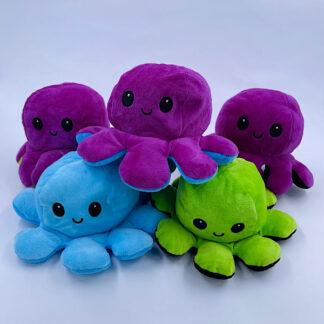 Sur Sød blæksprutte sød vendbar ensfarvet