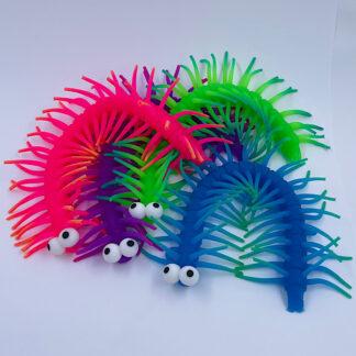 Tusindeben Stretchy med hår Fidget Toy