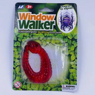 Vindues Vandrer Orm rød Window Walker Fidget Toy