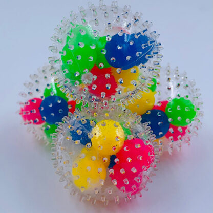 DNA bold med pigger stressbold små gaver