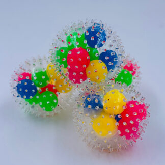 DNA spike ball squishy stressbold små gaver