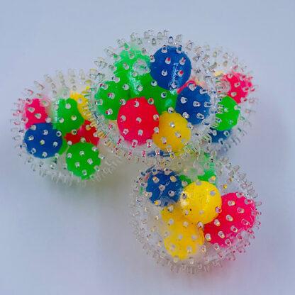 DNA spike stressbold Fidget Toy