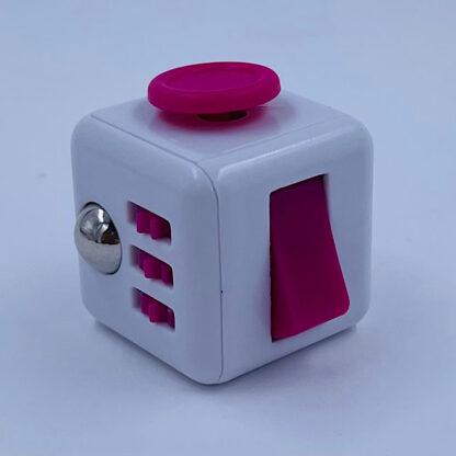 Fidget Cube hvid pink antistress Fidget Toy