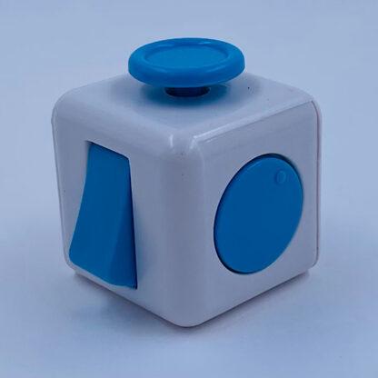 Fidget cube hvid turkis antistress Fidget Toy