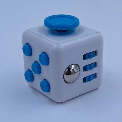 Fidget Cube hvid turkis Fidget Toy