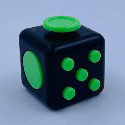 Fidget Cube sort grøn antistress Fidget Toy