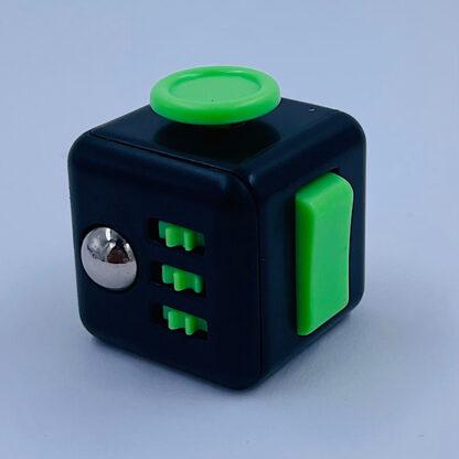Fidget Cube sort grøn Fidget Toy