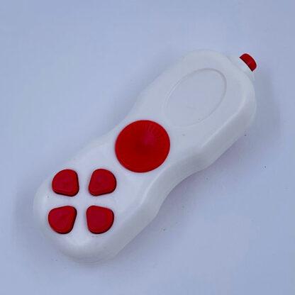 Fidget Pad hvid rød stress Legetøj
