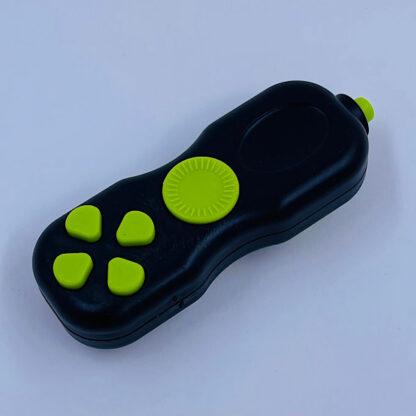 Fidget Pad sort grøn stress Legetøj