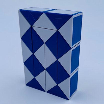 Fidget Snake Cube blå Fidget Toy