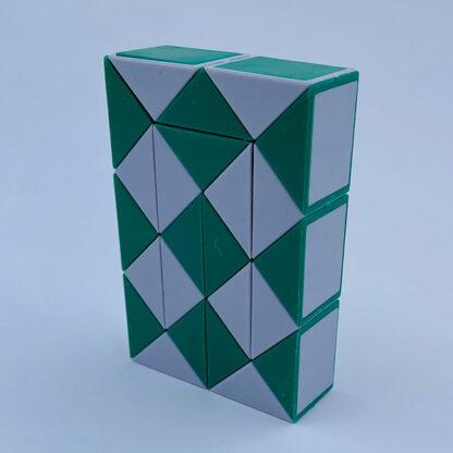Fidget Snake Cube grøn-Fidget Toy