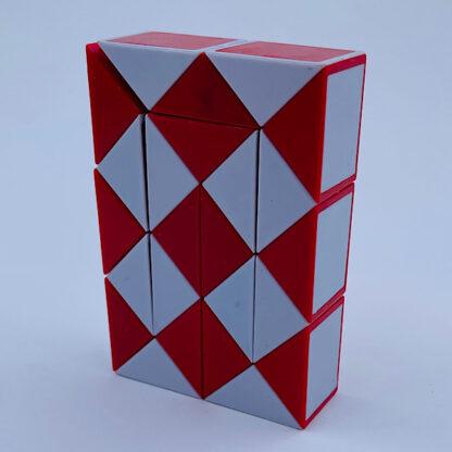 Fidget Snake Cube rød Fidget Toy