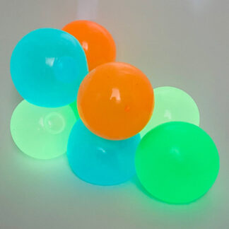 Glow in the dark Sticky ball Legetøj