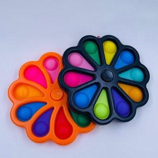 Kæmpe Fidget Spinner Simple Dimple Fidget Toy