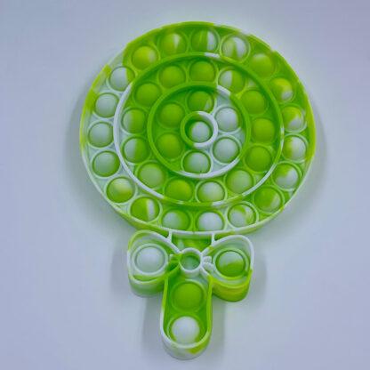 Lollipop Pop it Slikkepind grøn Pop Fidget