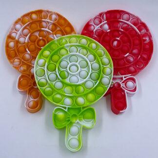 Lollipop Pop it slikpind Fidget Toy
