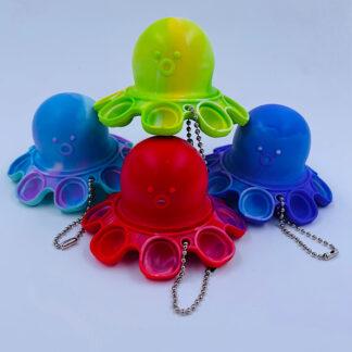 Magic Octopus flip color change surprise nøglering