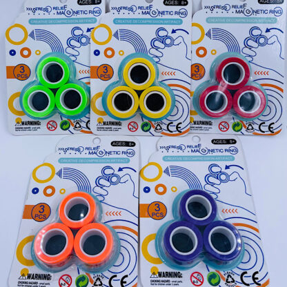 Magnet Ringe Finger Rings Fidget Toy