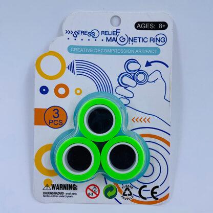 Magnet Ringe Finger Rings grøn Fidge Toy