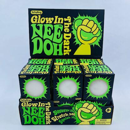 Nee Doh selvlysende klemmebold stressbold Fidget Toy