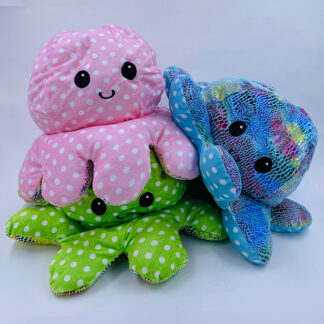 Octopus Reversibale mega kæmpe glad Fidget Toy