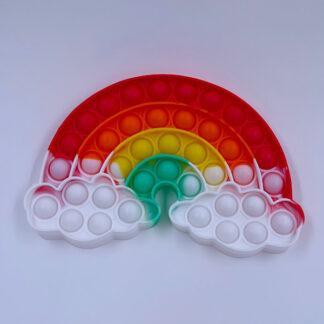 Pop it Regnbue med sky Pop Fidget Fødselsdag Gave