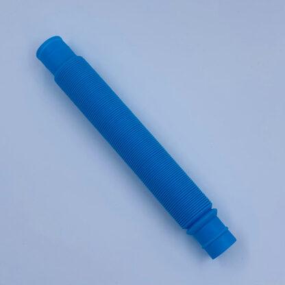 Pop Tubes blå Fidget Toy