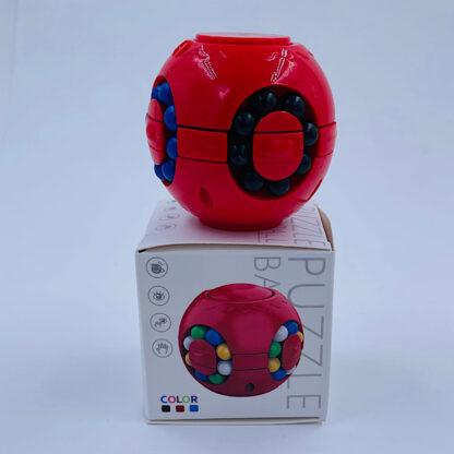 Puzzle Ball rød Fidget Toy