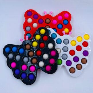 Simple Dimple sommerfugl med 27 pops legetøj