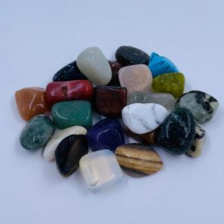Sten fra hele verden 24 stk. sjov