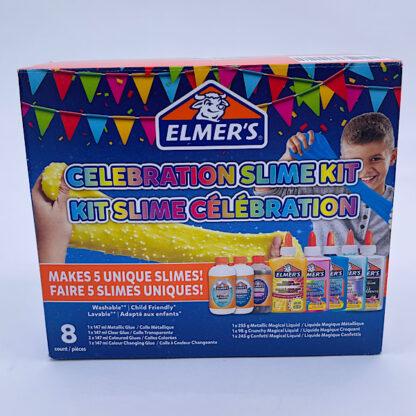 Elmers Celebration slime kit Fødselsdags slim sæt æske