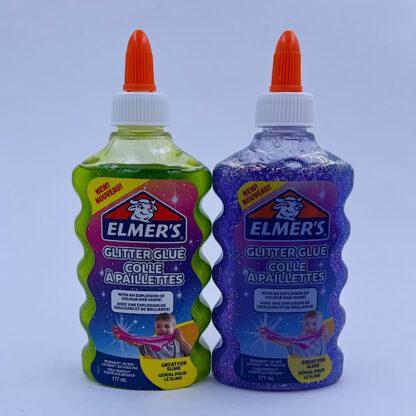 Elmers Spooky slime kit to stk. glimmerlim lim til slim