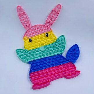 Kæmpe Pikachu Pop it pastelfarvet Fidget Toy