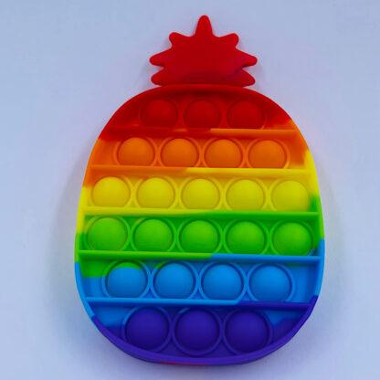 Pop it ananas regnbuefarvet Fidget Toy