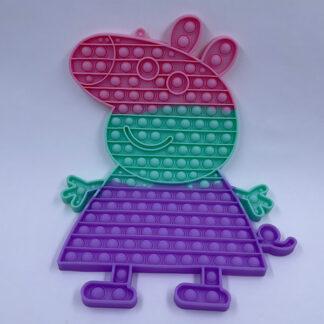 Pop it Gurli gris pastelfarvet Pop Fidget Fidget Toy