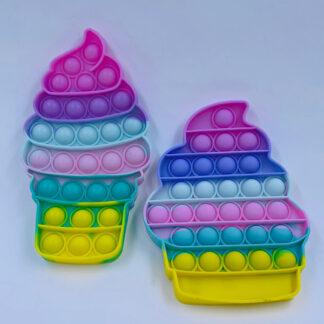 Pop it iskager regnbuefarvet Fidget Toy