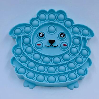 Sød bubble pop it blå